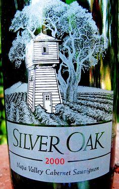 2000 Silver Oak Napa Valley Cabernet Sauvignon #wine