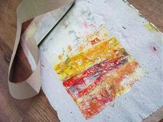 How to make a new paper for decoration from the old.   You need old newspaper, glue, mixer and water.
