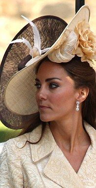 Duchess of Cambridge at the wedding of the Princess Royal's daughter and Olympic medalists in the 2012 summer games.