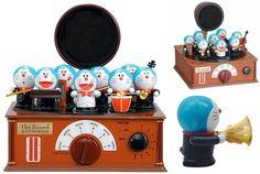 Doraemon Japan Anime Manga Comic Doll Figure  Jam box Sound Symphony Limited 548