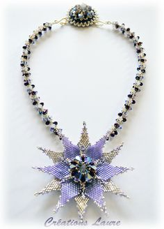 Laure's Creations featured in Bead-Patterns.com Newsletter!