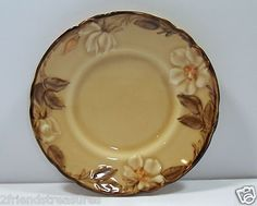 """Café Royal Bread & Butter Plate ~ Franciscan Ware ~ Hand Painted Approx 6 3/8"""" in diameter ~ Pre-Owned No chips/cracks ~ Normal Utensil Wear Made ins USA ~ Discontinued Pattern Pattern Run: 1980 -1983"""