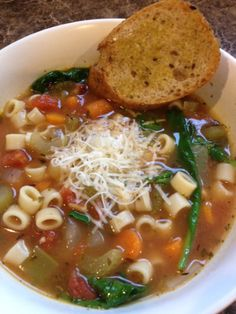 Winter Soup- So filling, healthy and good. Freeze able also for make ahead meals Also a good weight watchers recipe :)