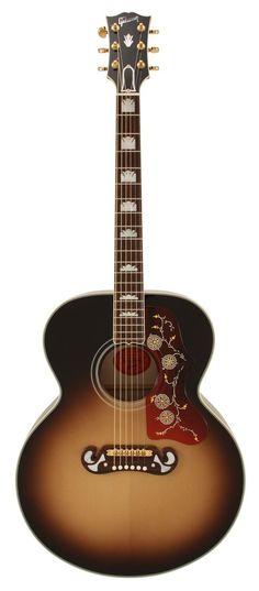 Gibson 1968 J200 Vintage Sunburst Reissue