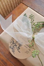 The Grower's Daughter - Gift Wrapping