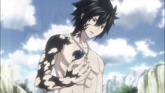 Fairy Tail Gruvia, Fairy Tail Gray, Fairy Tail Anime, Gray And Lucy, Gray Instagram, Rave Master, Fairy Tail Family, Fairy Tail Characters, Anime Family