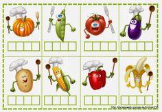 JOC DE SÍL·LABES – brichi Monferrer – Webová alba Picasa Spelling Games, Kindergarten, Maila, Phonological Awareness, Speech Therapy, Album, Vegetables, Valencia, Ideas Para