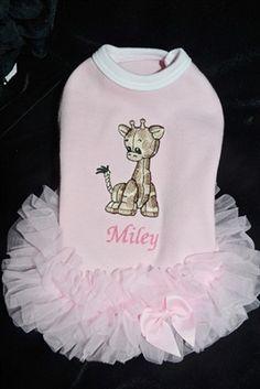 Puppy Baby T Dress