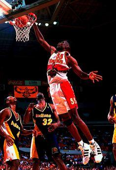 Naismith Memorial Basketball Hall of Fame Class of 2015 member Dikembe Mutombo,