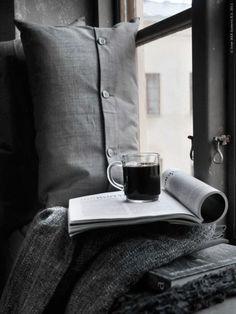 comfort by the window (via Ikea's blog)