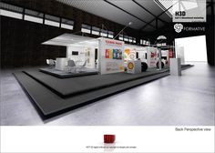 Shell Render for Top Gear Expo Interactive Experience. Shipping Container Conversion. Durban South Africa