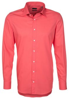 Sir Oliver SLIM FIT - Camicia elegante - Corallo