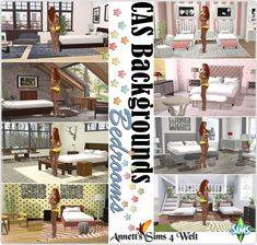 "CAS Backgrounds ""Bedrooms"" by Annett85"