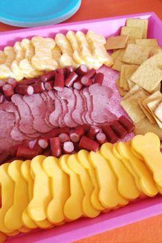 Bone Shaped Meat & Cheese