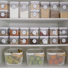 Likes, 143 Comments - Home Organisation Kitchen Organization Pantry, Home Organisation, Pantry Storage, Organization Hacks, Pantry Ideas, Organized Pantry, Storage Containers, Kitchen Pantry Design, Interior Design Kitchen