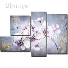 New Modern Abstract Oil Painting Paintings Canvas Wall Art Decoration Set Orchid in Art, Direct from the Artist, Paintings Bali Painting, Oil Painting Abstract, Texture Painting, Painting & Drawing, Watercolor Paintings, Painting Canvas, Diy Canvas Art, Canvas Wall Art, Art Deco Artists