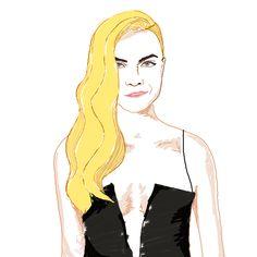 cara #fashion #fashionillustrator #fashionillustration #photoshop # draw #fashion #pmillustrator