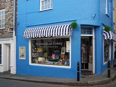 Bookends of Fowey, Cornwall