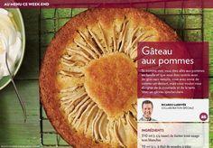 Si, comme moi, vous êtes allés aux pommes en famille et que vous êtes rentrés avec degros sacs remplis, vous avez envie de cuisiner un dessert, mais vous voulez vous éloigner de la croustade et de la tarte.  Voici un gâteau spectaculaire.
