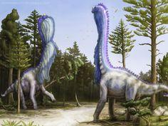 Brian Engh's wild Sauroposeidon couple.