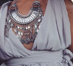 Join me to win the Mystery Ancient Coins Bib Necklace from Happiness Boutique!
