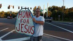 Artie Hornbuckle JOYns HONK FOR JESUS