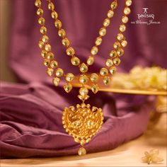 """Photo from Tanishq Jewellery """"Portfolio"""" album Tanishq Jewellery, Lehenga Wedding, Indian Wedding Jewelry, Lehenga Saree, Wedding Preparation, Photo Jewelry, Blouse Designs, Real Weddings, Gold Necklace"""