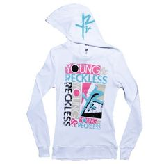 Young and reckless. Love this brand
