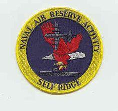 US NAVY PATCH - NAVAL AIR RESERVE ACTIVITY SELF RIDGE