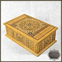 Carved wooden box, Ukraine, from iryna with love