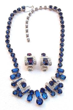 EISENBERG Vintage Necklace & Earrings.
