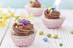Wielkanocne kremowo-czekoladowe babeczki #easter #cupcakes #recipe