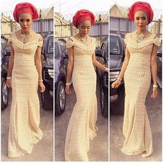 Nigerian lace style