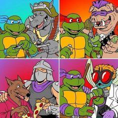 Ninja Turtles Art, Teenage Mutant Ninja Turtles, Animated Cartoons, Sketchbook Pro, 80s Stuff, Tmnt, Nerdy, Nostalgia, Gaming