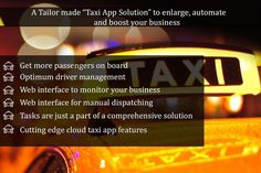 Taxi booking app for android,iOS and web.