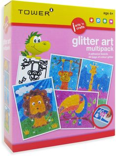 Enjoy all your favourite designs in one pack! These multipacks are the ultimate 'edutainment' product that will keep kids entertained for hours while having fun learning! Glitter Art, Wild Creatures, Japanese Artists, Building Toys, Toy Store, Animal Design, Baby Accessories, Fun Learning, Have Fun