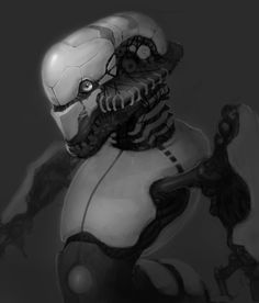 Robot, Nicola Angius on ArtStation at https://www.artstation.com/artwork/4XGqk