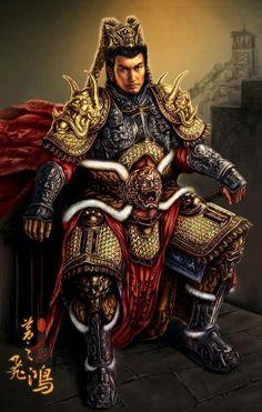 'inspiration only -- this armor is too hvyn (+ hot) for humid island oc Ochalea  [Lu Bu]