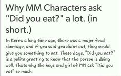 Mystic Messenger - I wonder if this is true. I'd wondered if there was a lot of problems with anorexia or something...