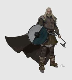 Brian Matyas' Art Blog: Vikings