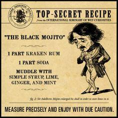 The Black Mojito
