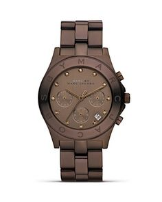brown marc jacobs watch