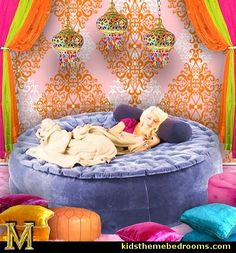 i dream of jeannie theme bedroom ideas-inflatable beds