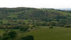 View from the top of Higher Sutton across Macclesfield and the home of the Cheese That Makes You Grin