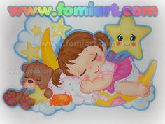 Baby Shower Fomiart Niña Durmiendo