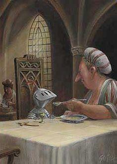 Heinrich VIII: Illustration by Gerhard Glück Art And Illustration, Character Illustration, Illustrations Posters, Satire, Michael Sowa, Feel Good Pictures, Es Der Clown, Mother Pictures, Devian Art