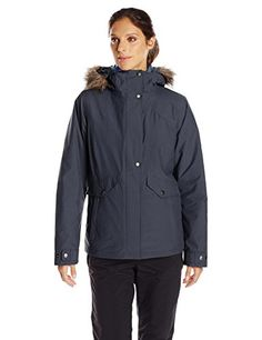 Columbia Women's Sunset Vista Interchange Jacket, India Ink/Bluebell, Medium ** Continue to the product at the image link.