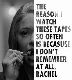 My poor, poor Rachel