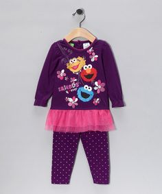 Take a look at this Purple Ruffle Tee & Pants - Infant by Blow-Out on today! Children Outfits, That Look, Take That, Future Baby, Kid Stuff, Baby Kids, Infant, Essentials, Babies