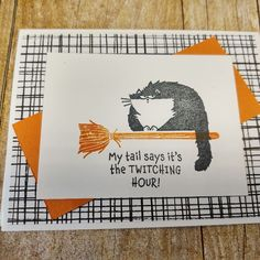 Try some easy Halloween cards, or use these cute cats from Stampin' Up! for other occasions. First Halloween, Easy Halloween, Black Cat Appreciation Day, Mini Sales, Cat Cards, Little Kittens, My Themes, Pattern Paper, Stampin Up Cards